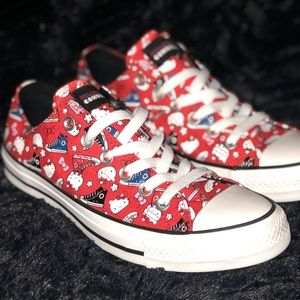 Converse Hello Kitty Mens Size 6 Women's Size 8